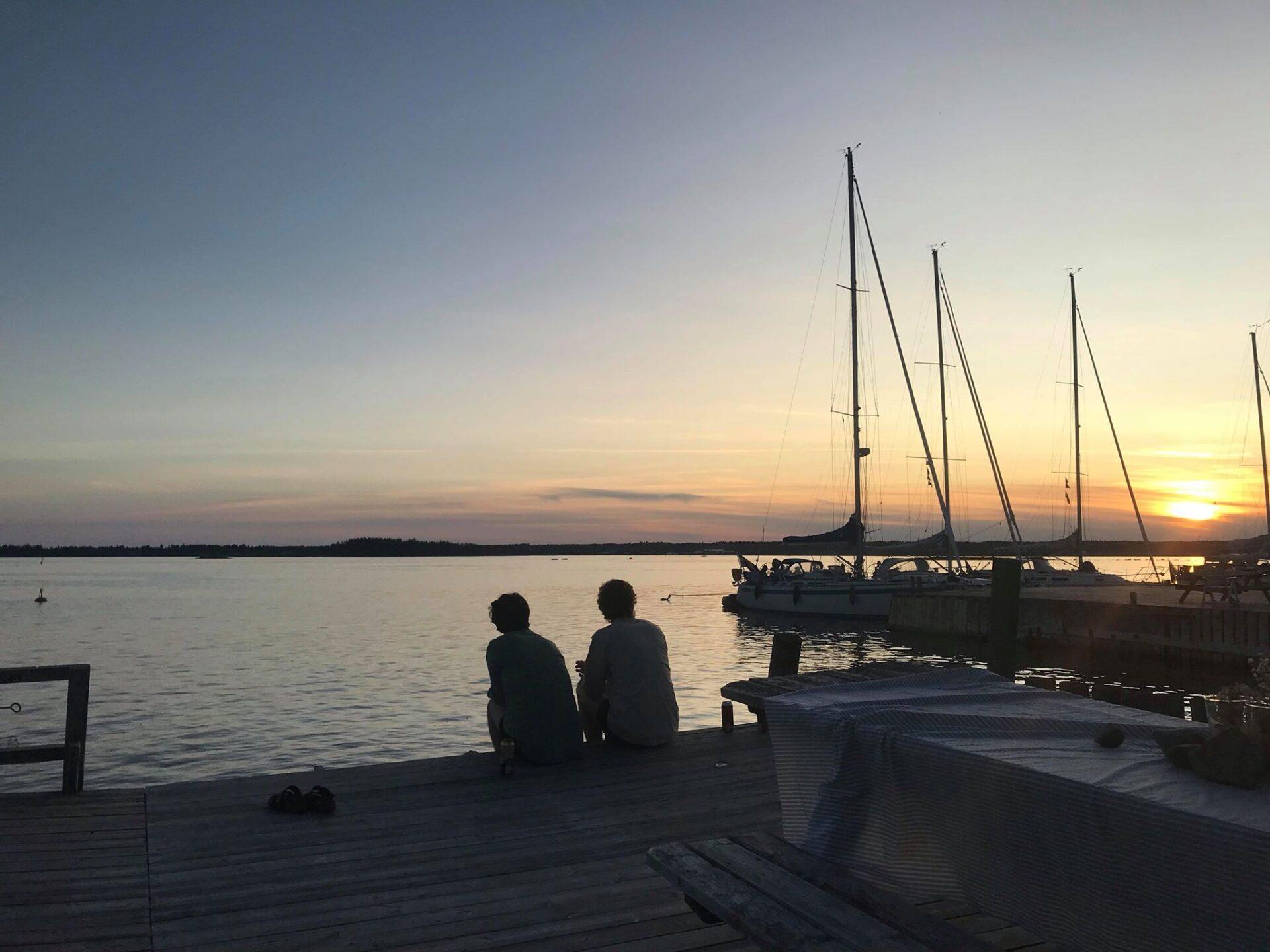 Sommarkväll på Norrbyskär