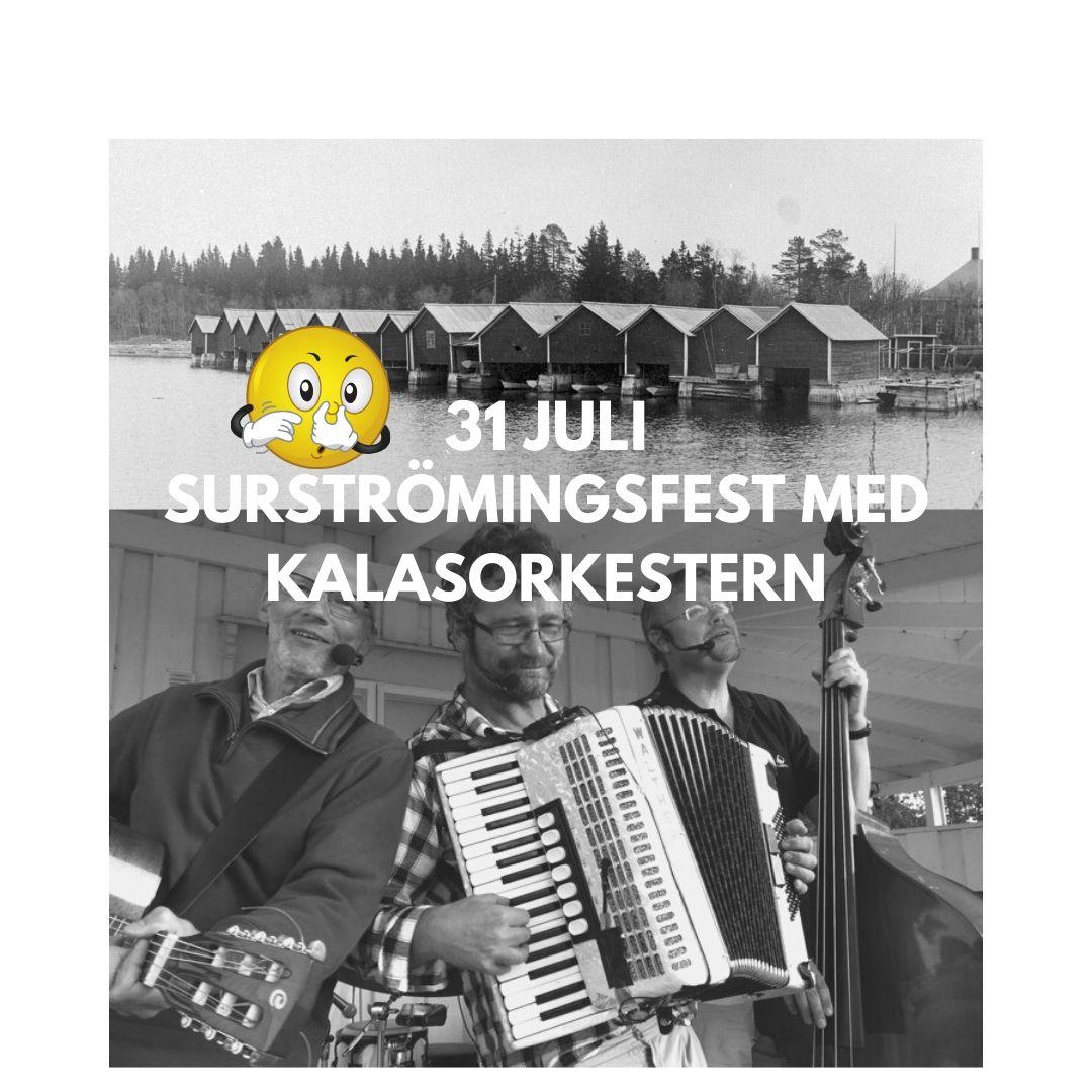 Surströmmingsfest med kalasorkestern Norrbyskär